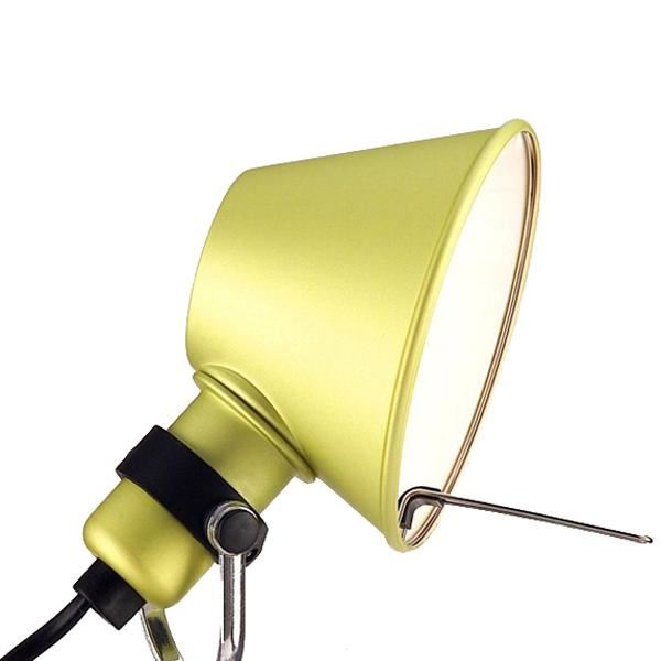 Artemide Tolomeo Micro Pinza Væglampe klemme  Gul