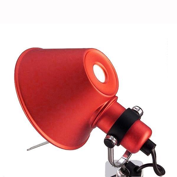 Image of   Artemide Tolomeo Micro Pinza Væglampe klemme Rød