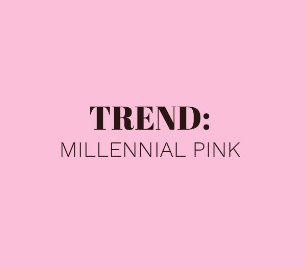 Image of   Trend: Millennial pink