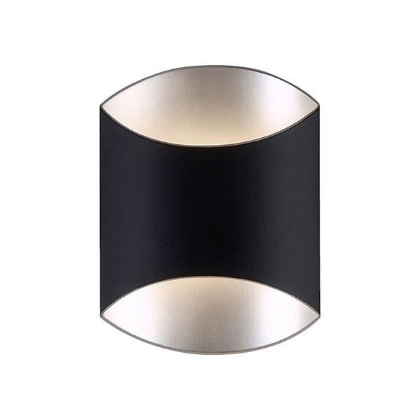 Image of   Darø Archos Væglampe Mat Sort Stor