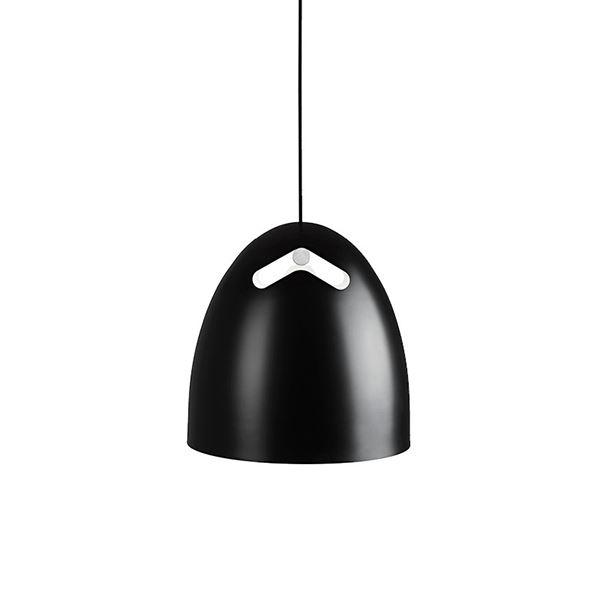 Image of   Darø Bell+ Pendel Eg-Sort Mellem