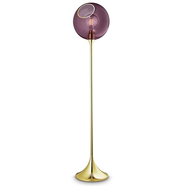 Design by Us Ballroom Gulvlampe Lilla fra Design By Us