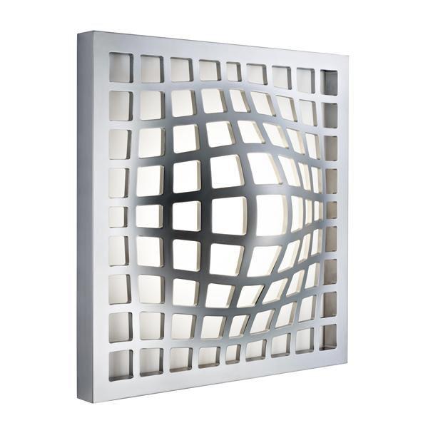 Fabbian Kwark LED Væg- & Loftslampe Grå