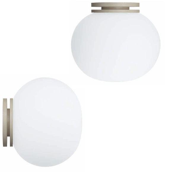 Flos Glo-Ball Mini Væg-/loftlampe Spejl