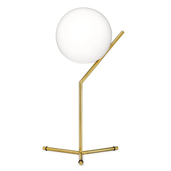 Flos IC T1 Høj Bordlampe Messing