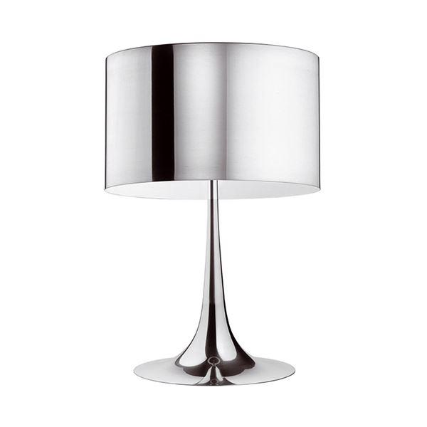 Flos Spun Light T1 Bordlampe Aluminium