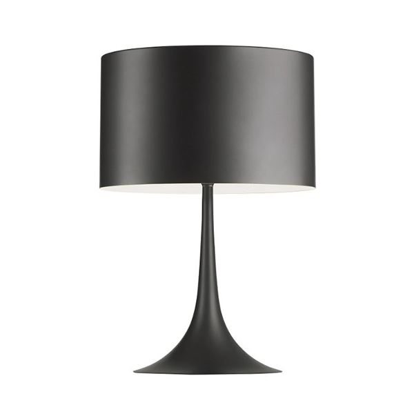 Flos Spun Light T1 Bordlampe Grå