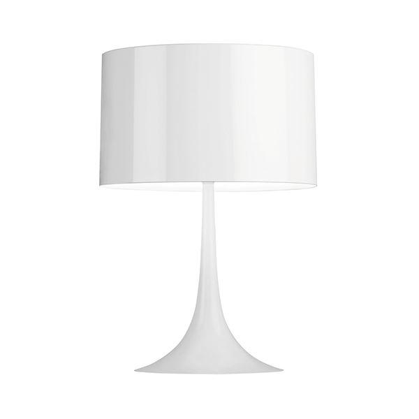 Flos Spun Light T1 Bordlampe Hvid fra Flos