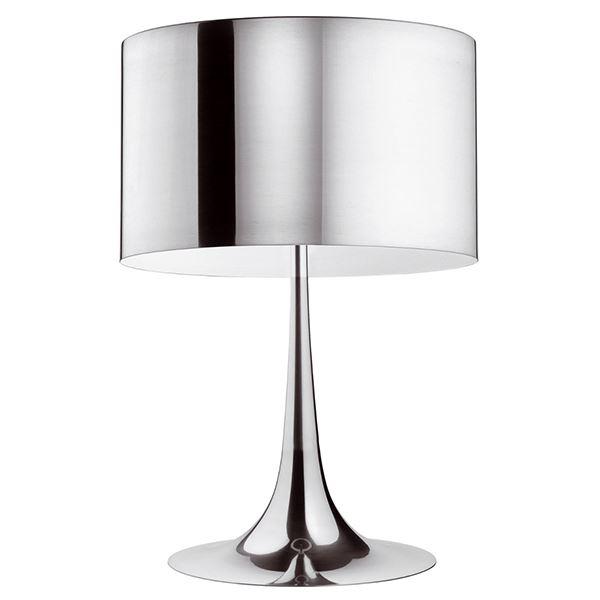 Flos Spun Light T2 Bordlampe Aluminium