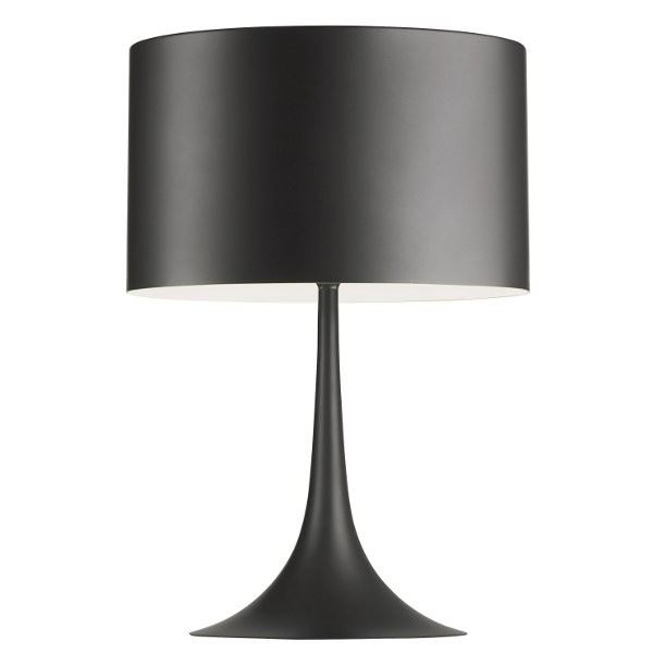 Flos Spun Light T2 Bordlampe Grå