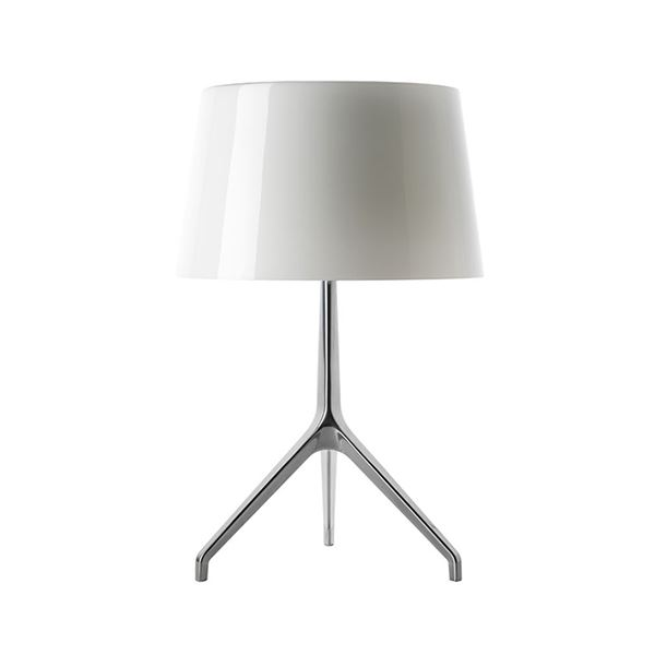 Foscarini Lumiere xxs Bordlampe Hvid Aluminium fra Foscarini
