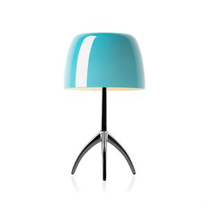 Foscarini Lumiere Bordlampe Piccola Turkis