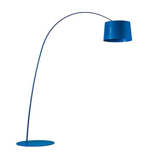 Foscarini Twiggy Gulvlampe LED Blå