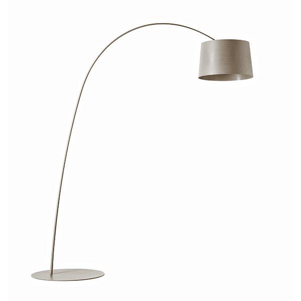 Foscarini Twiggy Gulvlampe LED Grå
