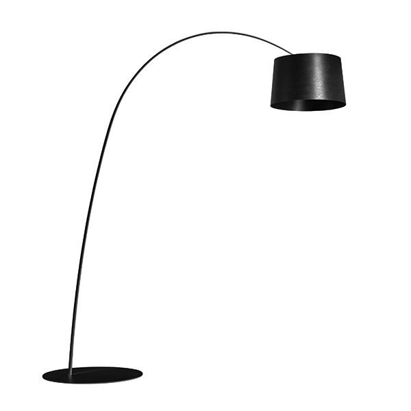 Foscarini Twiggy Gulvlampe LED Sort