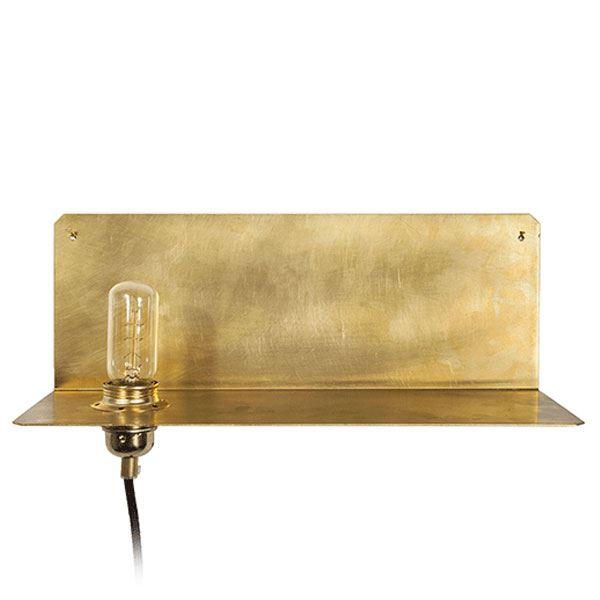 FRAMA 90 Væglampe Messing