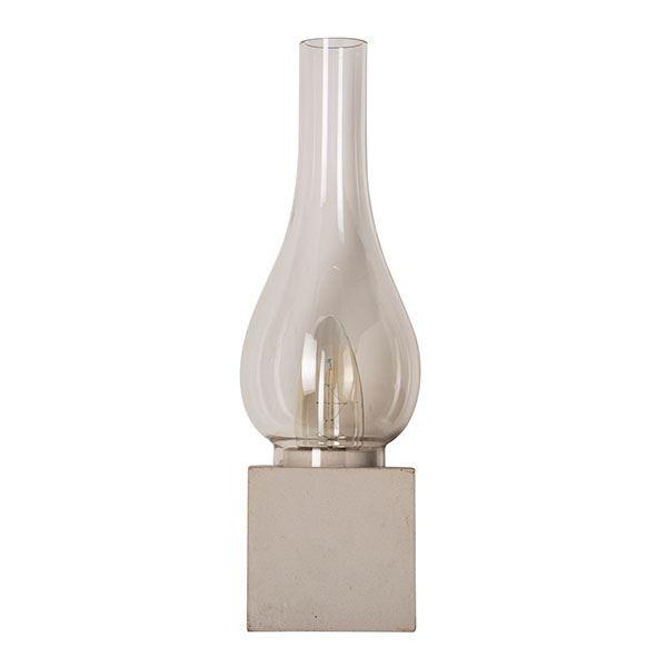 Karman Amarcord Væglampe Hvid Beton & Klar