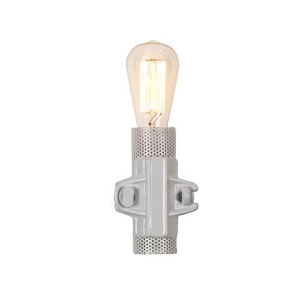 Karman Nando Væglampe Hvid