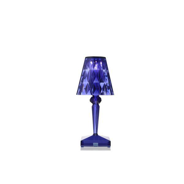 Billede af Kartell Battery Bordlampe Blå