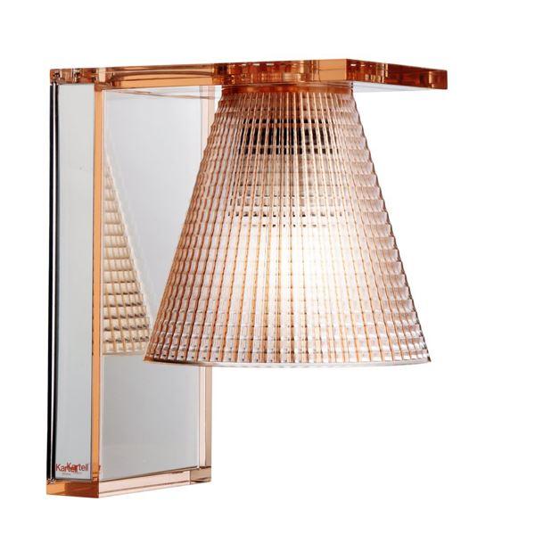 Billede af Kartell Light-Air Væglampe Sculpted Amber