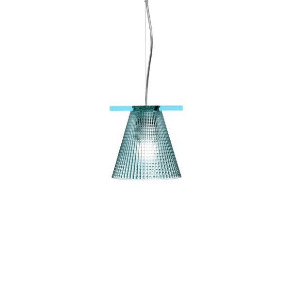 Billede af Kartell Light-Air Pendel Sculpted Lyseblå
