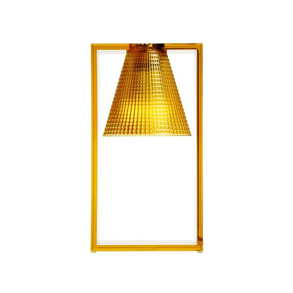 Kartell Light-Air Bordlampe Sculpted Amber
