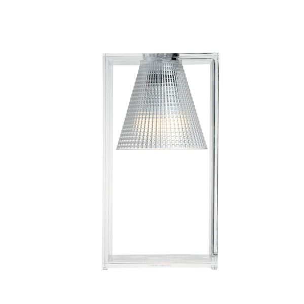 Billede af Kartell Light-Air Bordlampe Sculpted Krystal