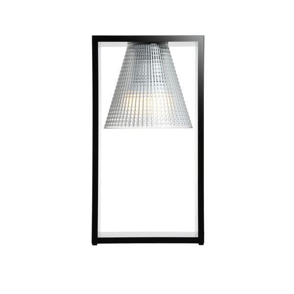 Billede af Kartell Light-Air Bordlampe Sculpted Sort/Krystal