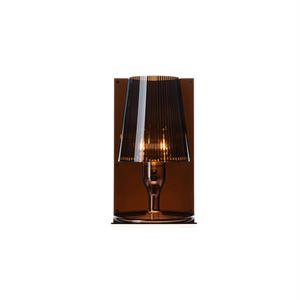 Kartell Take Bordlampe Røgfarvet