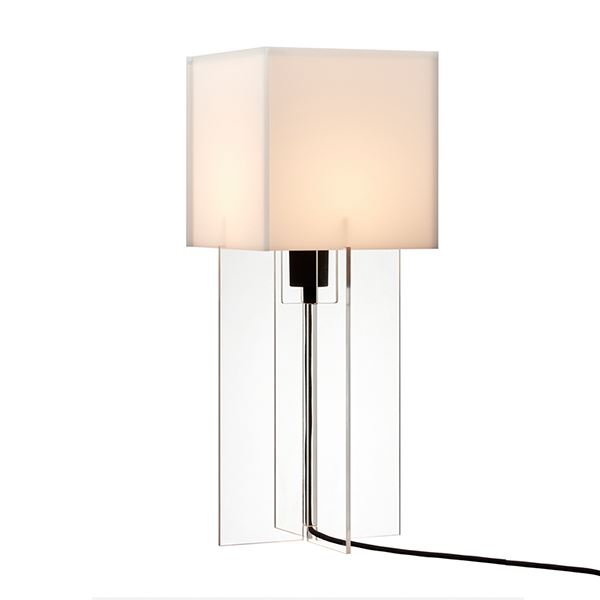 Lightyears Cross-Plex T-500 Bordlampe Klar Akryl