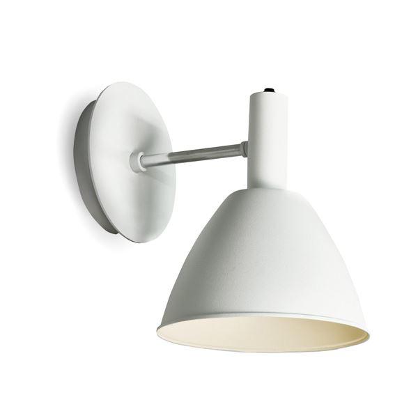 Billede af lumini Bauhaus 90 Væglampe Hvid