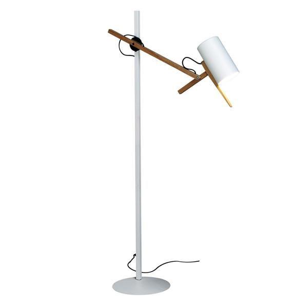 Marset Scantling Gulvlampe P40 Hvid