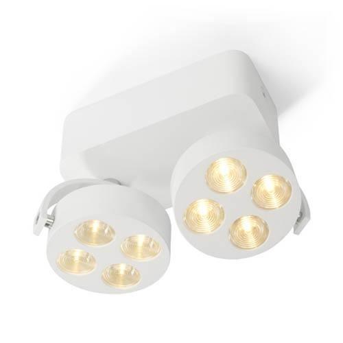 Trizo 21 Mini-Pi 2 UP Spot- & Loftslampe Hvid