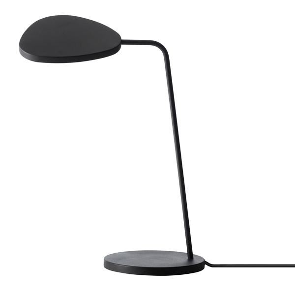 Muuto Leaf Bordlampe Sort