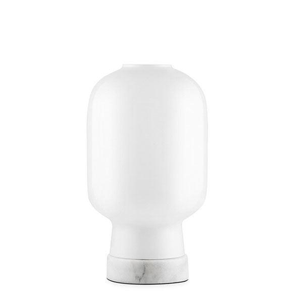 Normann Copenhagen Amp Bordlampe Hvid/Hvid