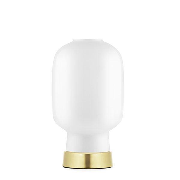 Normann Copenhagen Amp Bordlampe Hvid/Messing