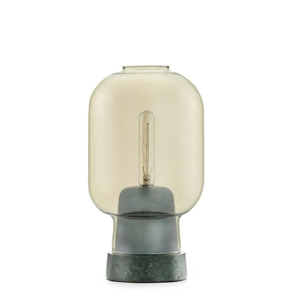 Normann Copenhagen Amp Bordlampe Guld/Grøn