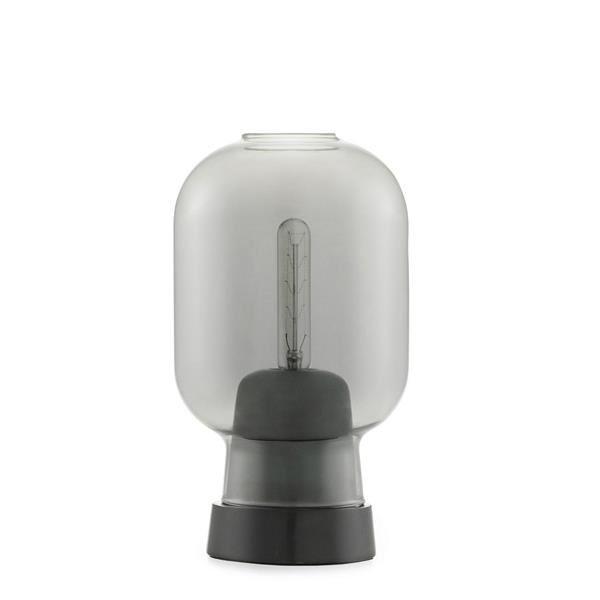 Normann Copenhagen Amp Bordlampe Røgfarvet/Sort