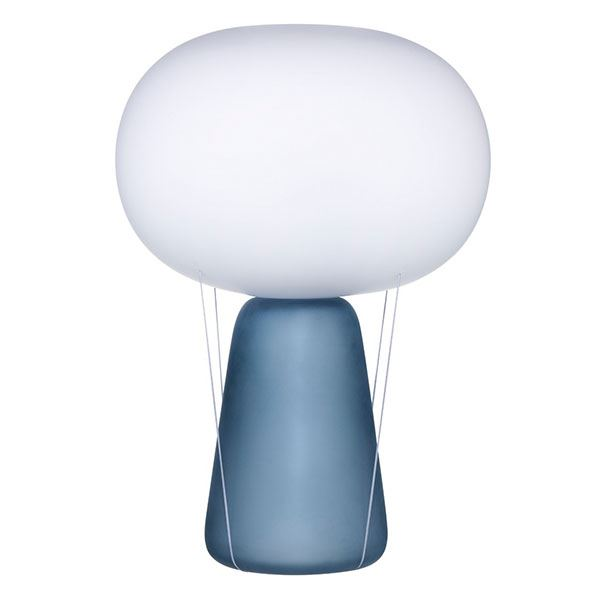 Nude Blow Bordlampe Blå