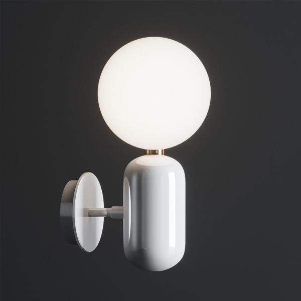 Billede af Parachilna Aballs Væg- og Loftlampe Lille Hvid