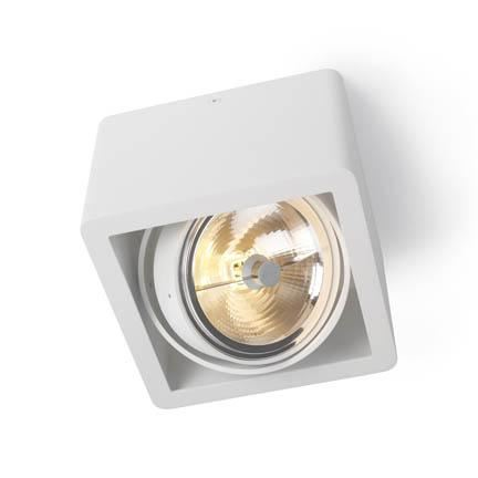 Trizo 21 R110 UP Spot- & Loftslampe Hvid