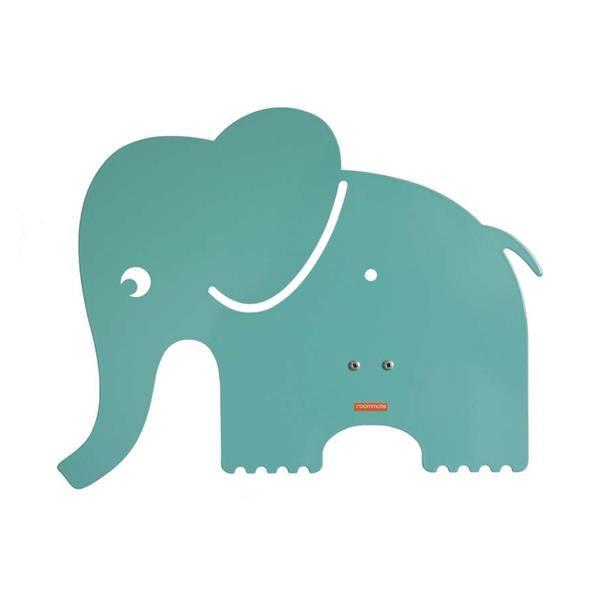 Billede af roommate Elefant Silhuetlampe Væglampe Blå/Grøn