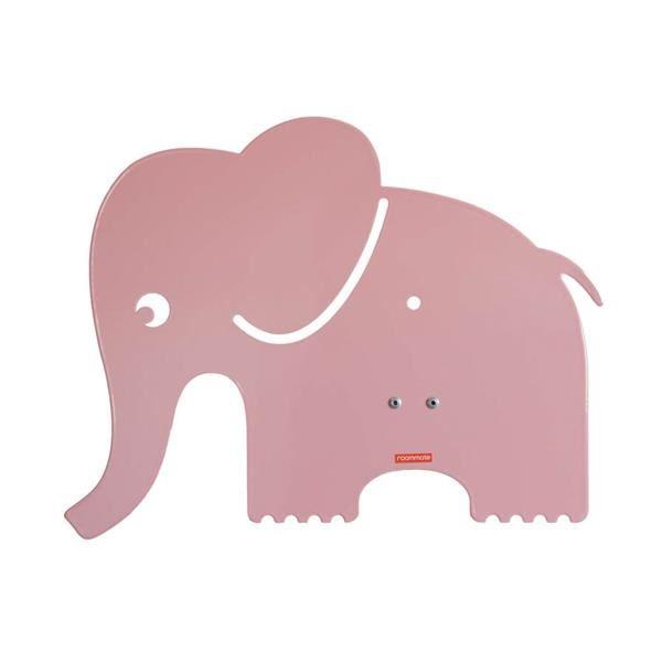 Billede af roommate Elefant Silhuetlampe Væglampe Lyserød