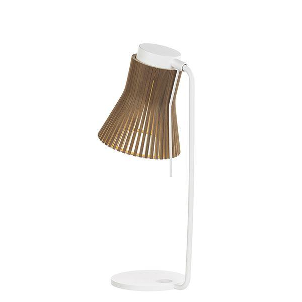 Secto Petite 4620 Bordlampe Valnød fra Secto