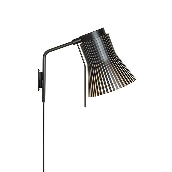 Secto Petite 4630 Væglampe Sort