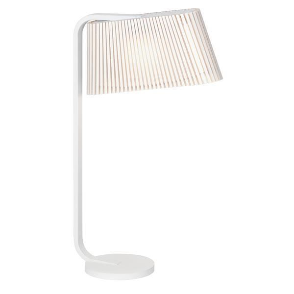 Secto Owalo 7020 Bordlampe Hvid