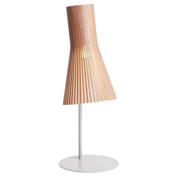Secto 4220 Bordlampe Valnød