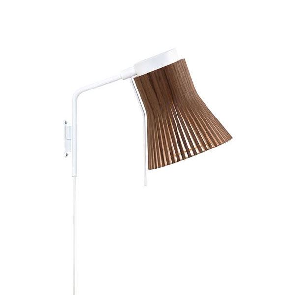 Secto Petite 4630 Væglampe Valnød fra Secto
