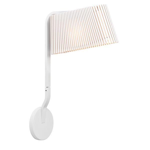 Secto Owalo 7030 Væglampe Hvid fra Secto