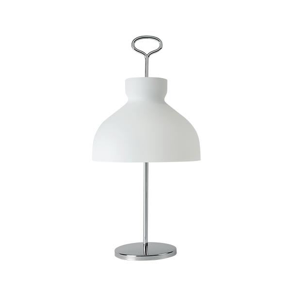 TATO Arenzano Bordlampe Høj Hvid & Krom